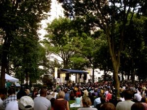 John Scofield trio @ Madison Square Park