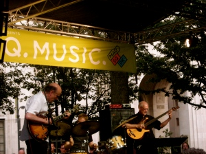 John Scofield trio @ Madison Square Park