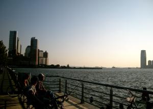 Püüavad kala. See väike asi seal kaugel on Statue of Liberty