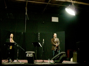 Besides trumpet, Amir ElSaffar's singing was amazing too