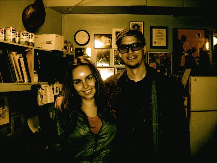 Me and Kurt Rosenwinkel @ the Vanguard