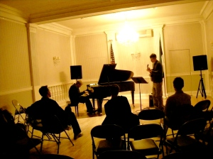Kristjan Randalu/Ben Monder duo @ the Estonian House
