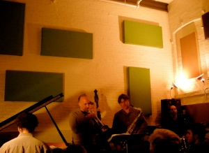 Ralph Alessi with Tony Malaby, Andy Milne, Ben Street and Mark Ferber @ I-Beam