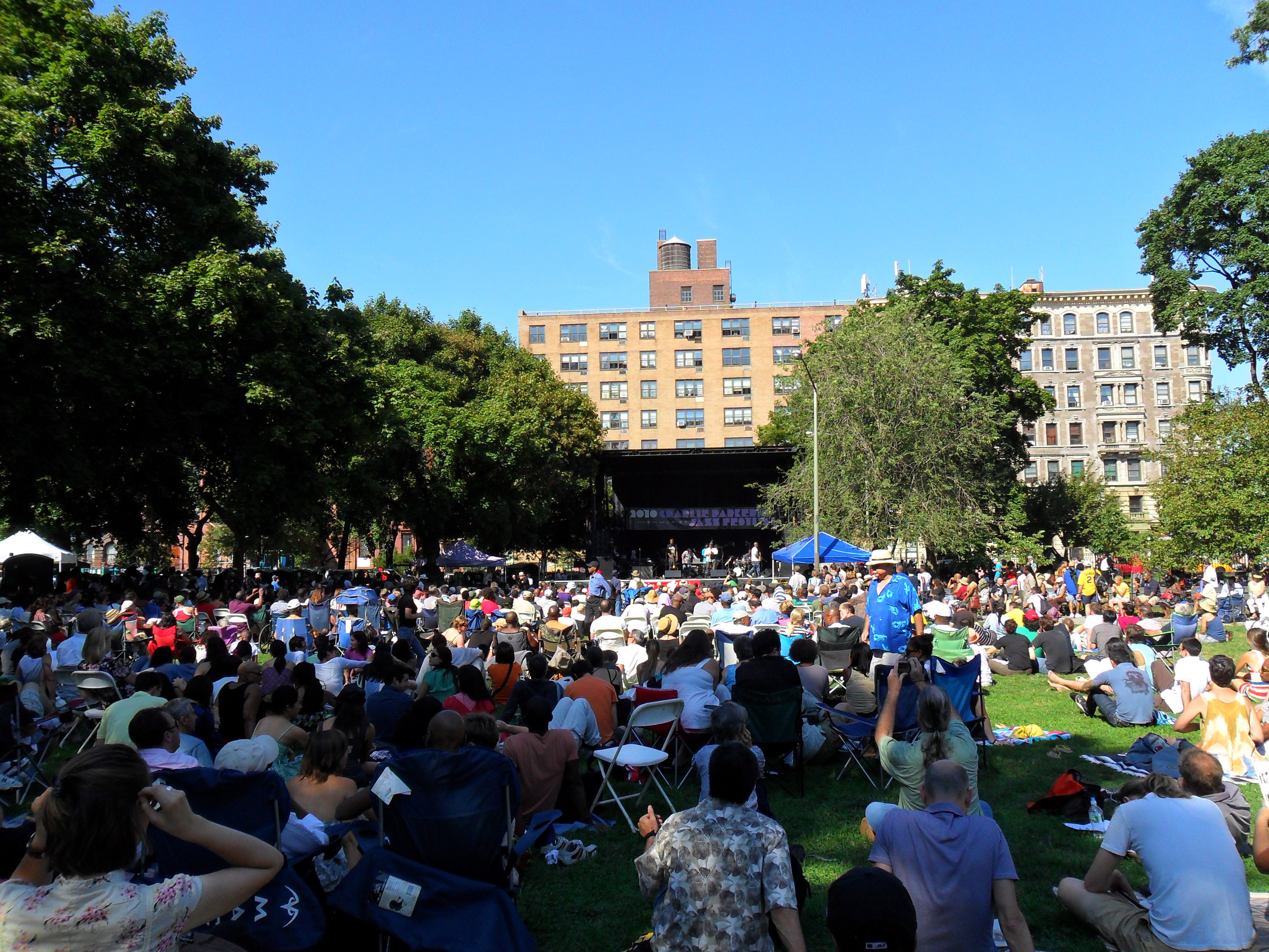Outdoor concert all the things new york jazz and more